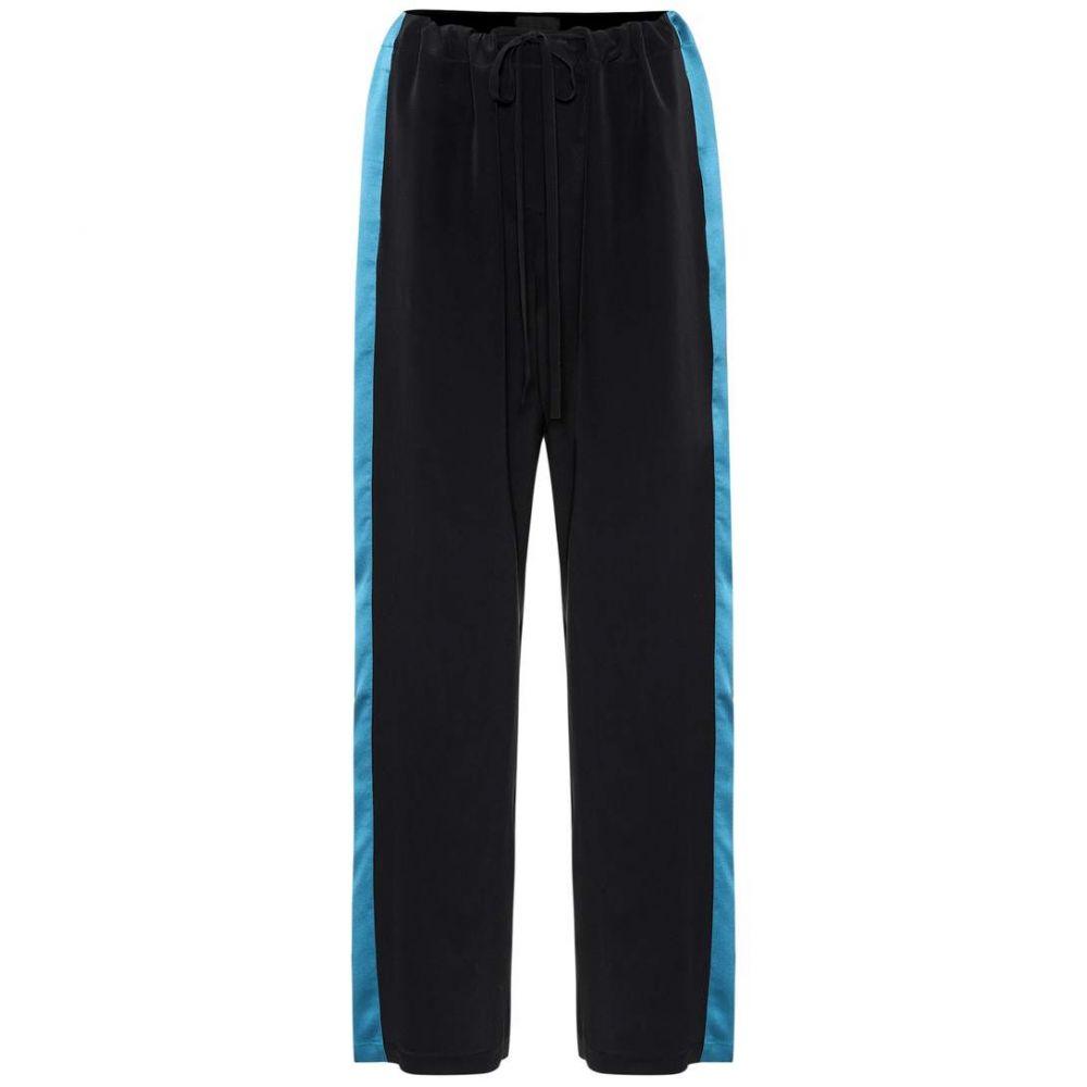 ハイダー アッカーマン Haider Ackermann レディース ボトムス・パンツ 【Silk pants】Black