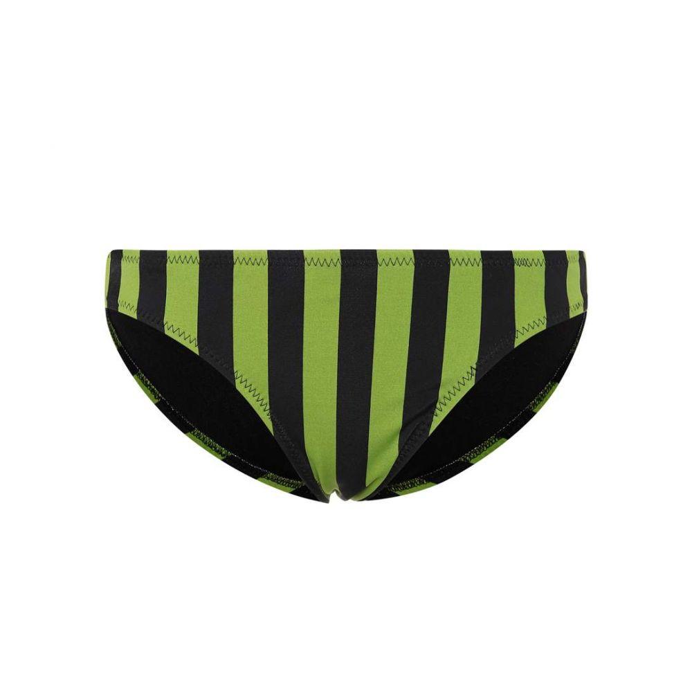 ノーマ カマリ Norma Kamali レディース ボトムのみ 水着・ビーチウェア【Striped bikini bottoms】Olive Stripe