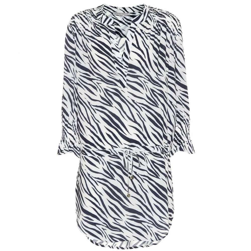 ハイジ クライン Heidi Klein レディース ビーチウェア シャツワンピース 水着・ビーチウェア【Kalahari shirt dress】blue print