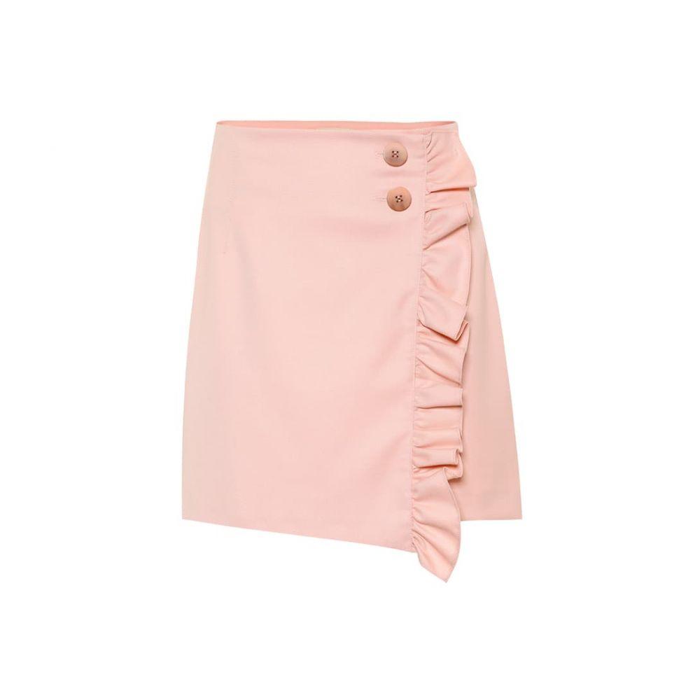 バウム ウンド ヘルガーデン Baum und Pferdgarten レディース ミニスカート スカート【Sangita ruffled miniskirt】Mellow Rose