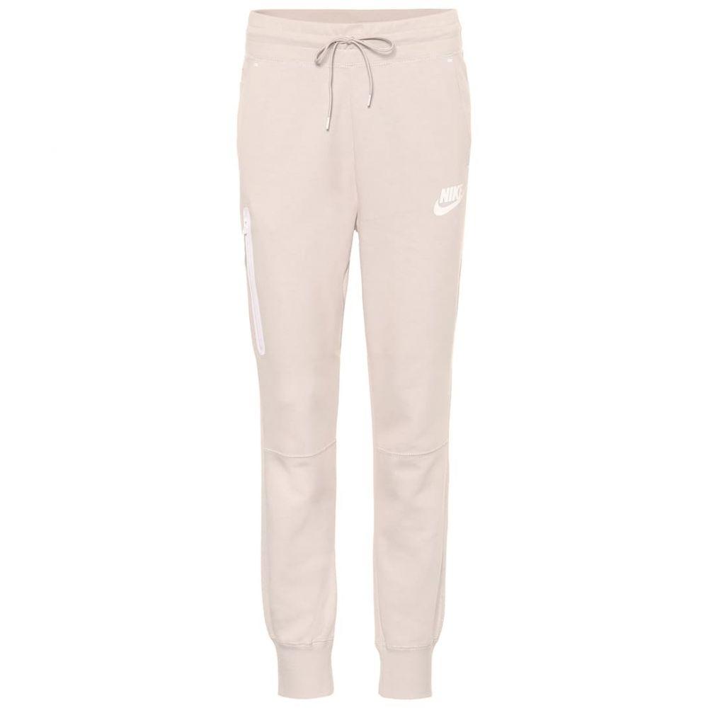 ナイキ Nike レディース スウェット・ジャージ ボトムス・パンツ【Sportswear Tech Fleece trackpants】dsrtsd white