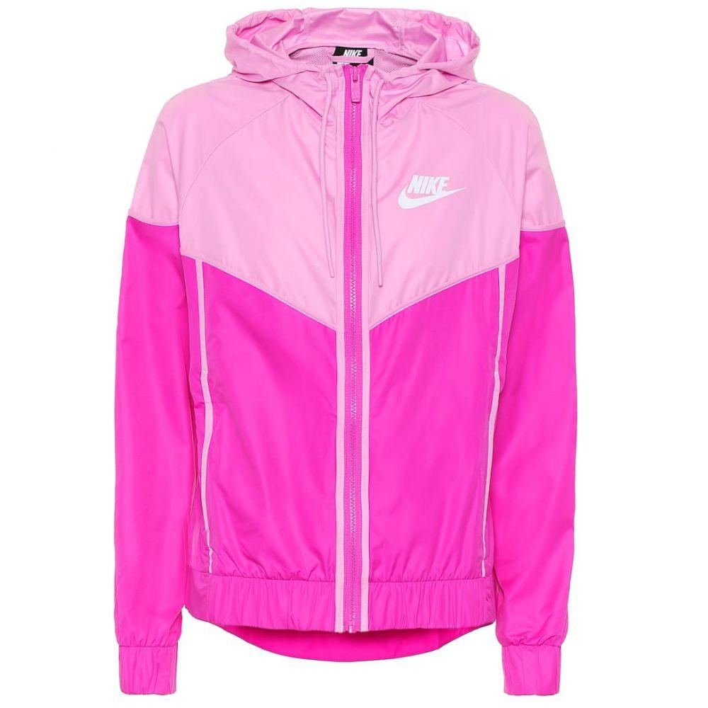 ナイキ Nike レディース ジャージ アウター【Windrunner track jacket】pink