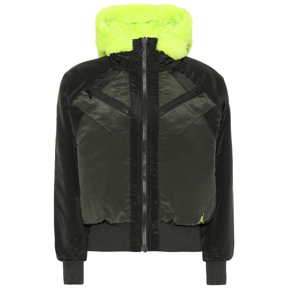 ナイキ Nike レディース ブルゾン ミリタリージャケット アウター【Jordan reversible bomber jacket】Silver