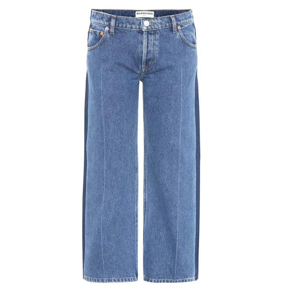 バレンシアガ Balenciaga レディース ジーンズ・デニム ボトムス・パンツ【Rockabilly jeans】Stonewash Indigo