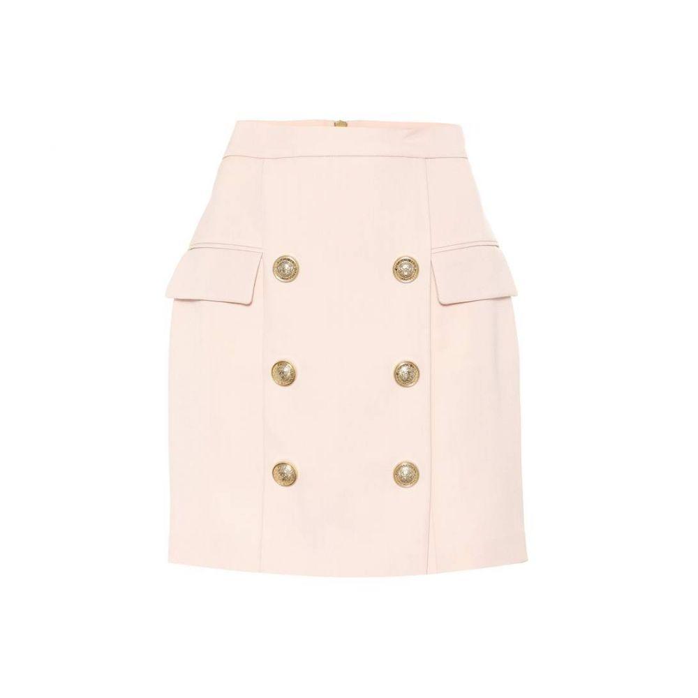 バルマン Balmain レディース スカート 【Wool skirt】Rose C