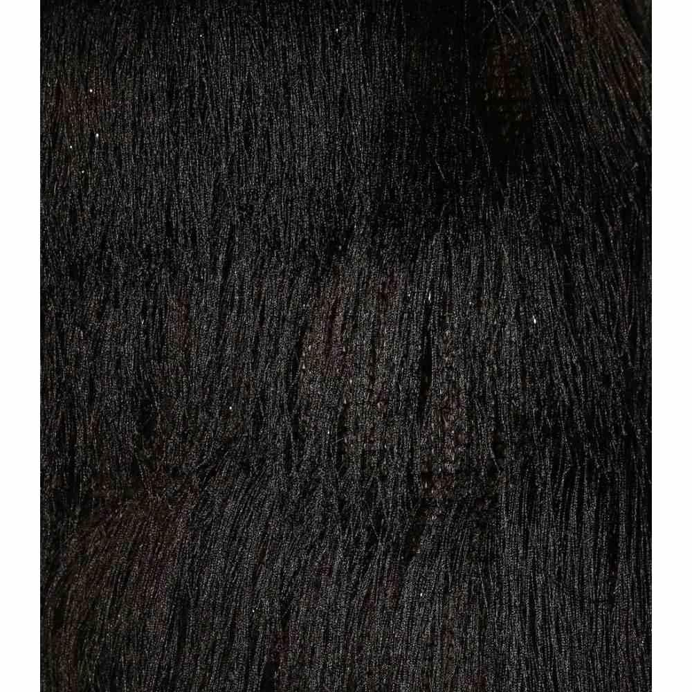 バルマン Balmain レディース ボトムス・パンツFringed metallic pants Noirc34LqRjA5