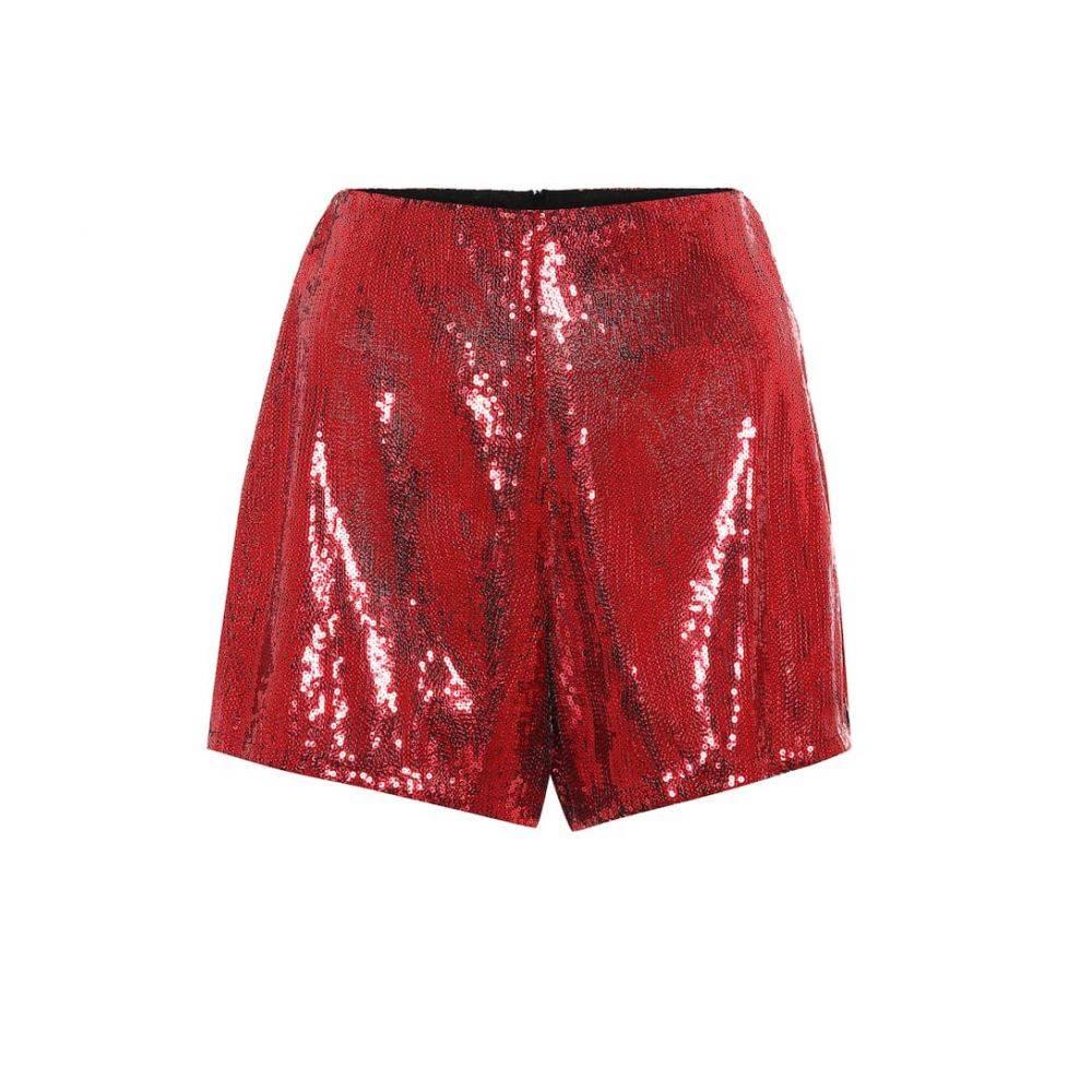 フィロソフィ ディ ロレンツォ セラフィニ Philosophy Di Lorenzo Serafini レディース ショートパンツ ボトムス・パンツ【Sequined shorts】red