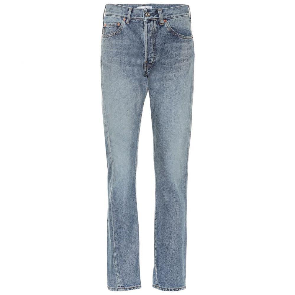 バレンシアガ Balenciaga レディース ジーンズ・デニム ボトムス・パンツ【Tapered jeans】Light Blue
