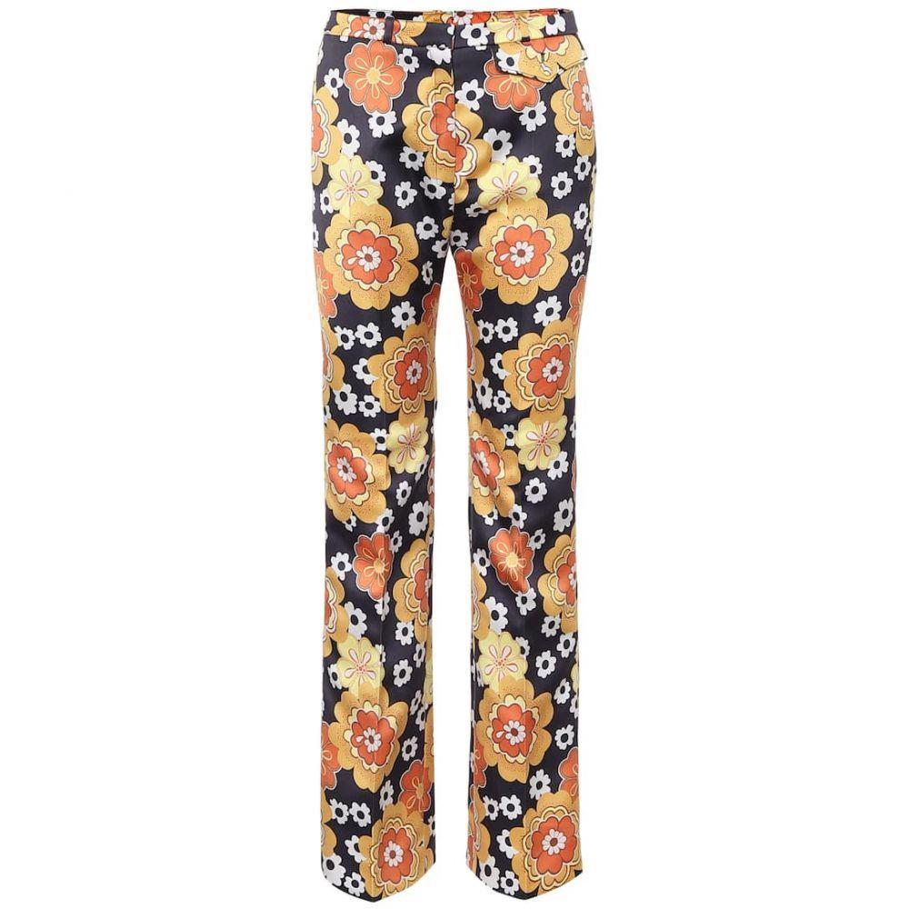 パコラバンヌ Paco Rabanne レディース ボトムス・パンツ 【Floral straight pants】A Definir