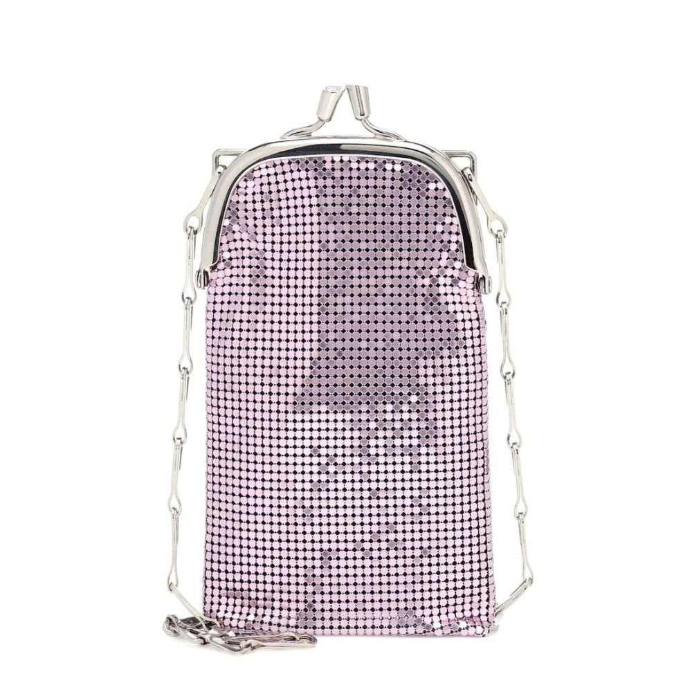 パコラバンヌ Paco Rabanne レディース ショルダーバッグ バッグ【Frame mesh shoulder bag】Pop Pink