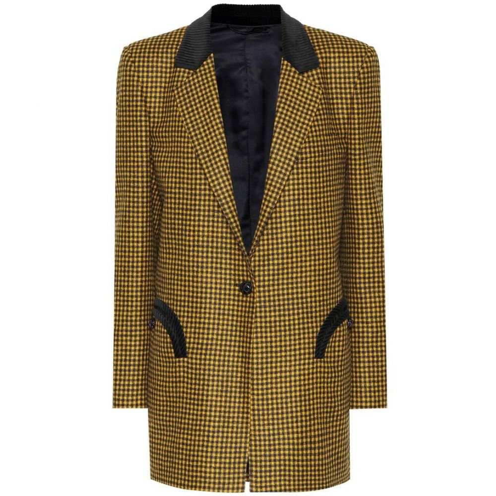 ブレイズ ミラノ Blaze Milano レディース スーツ・ジャケット アウター【Timeless checked wool blazer】Mustard