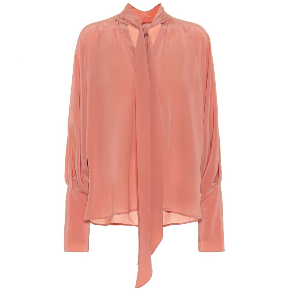 ペーター ペトロフ Petar Petrov レディース ブラウス・シャツ トップス【Blair silk blouse】rose