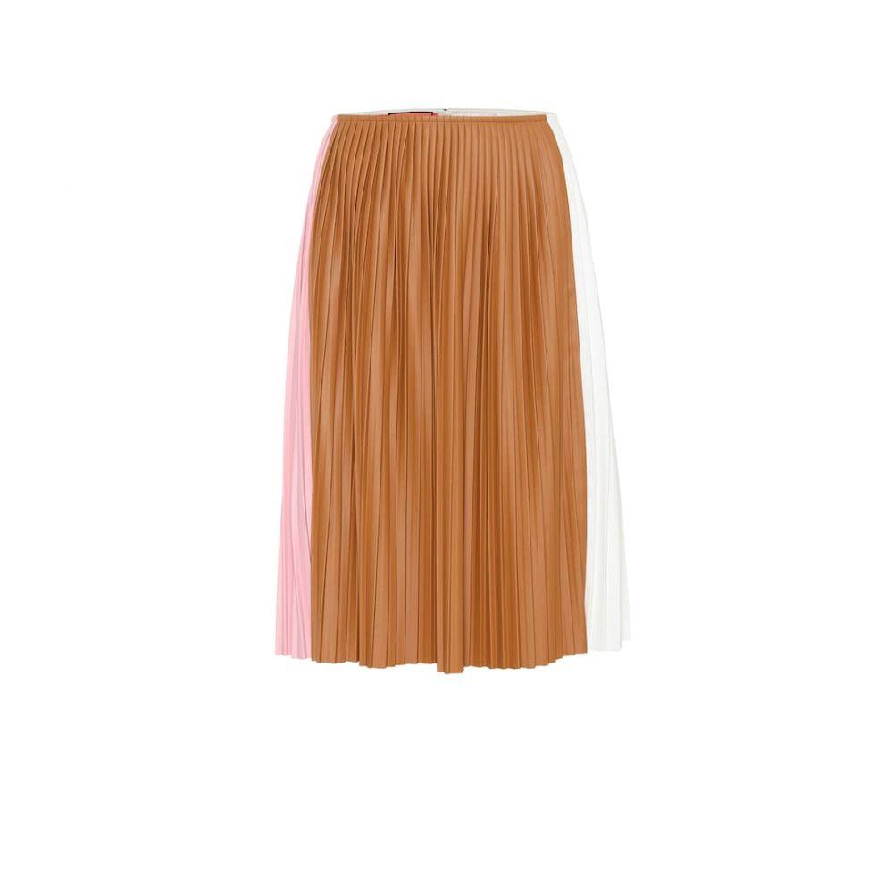 プラン C Plan C レディース ひざ丈スカート スカート【Pleated midi skirt】Peony Pink