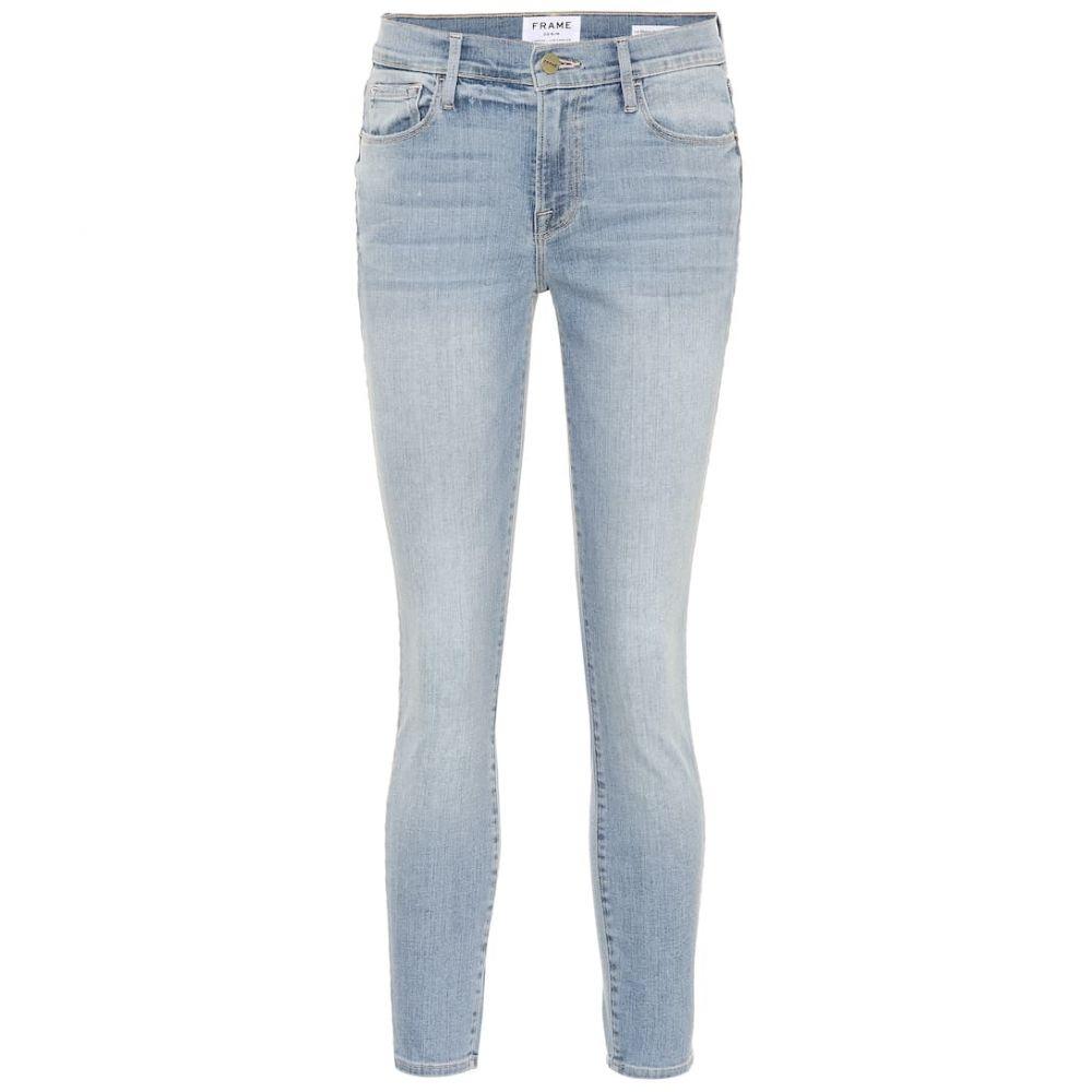 フレーム Frame レディース ジーンズ・デニム ボトムス・パンツ【Le Skinny de Jeanne mid-rise jeans】Adler