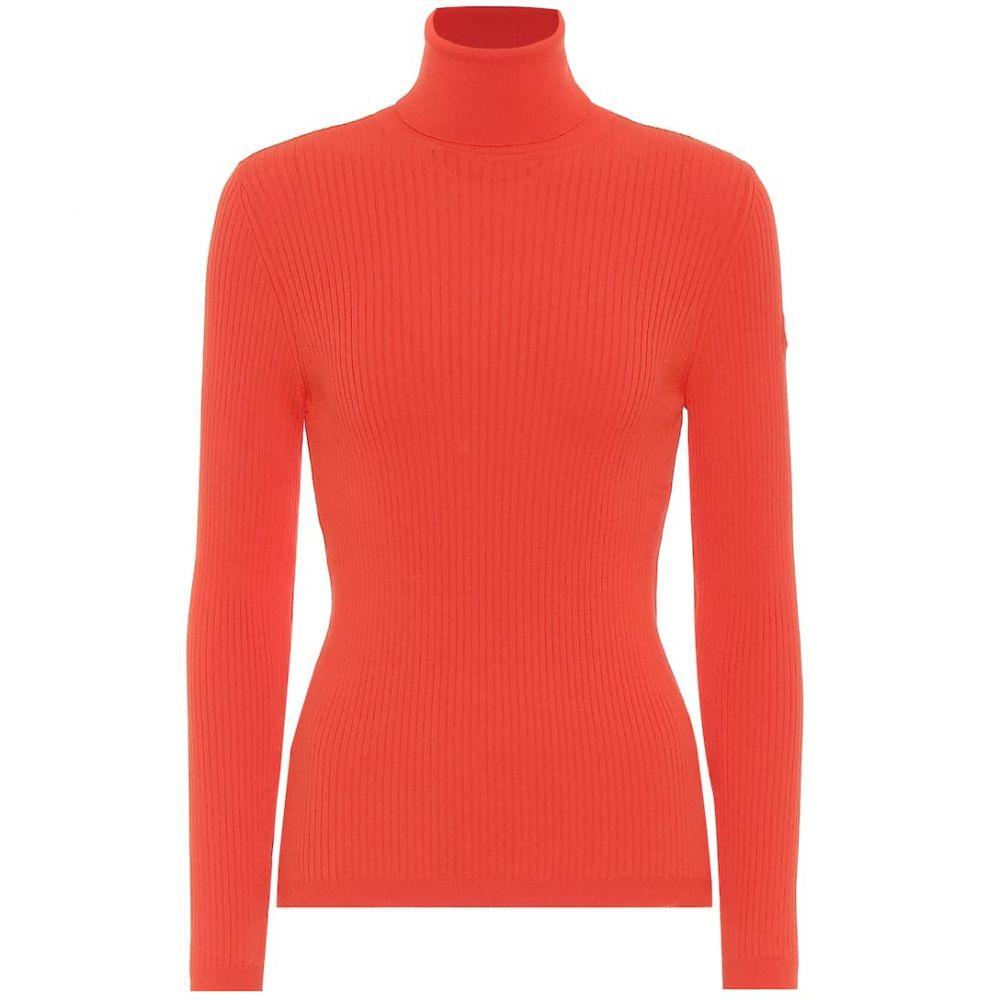フザルプ Fusalp レディース ニット・セーター トップス【Ancelle ribbed-knit sweater】Spicy