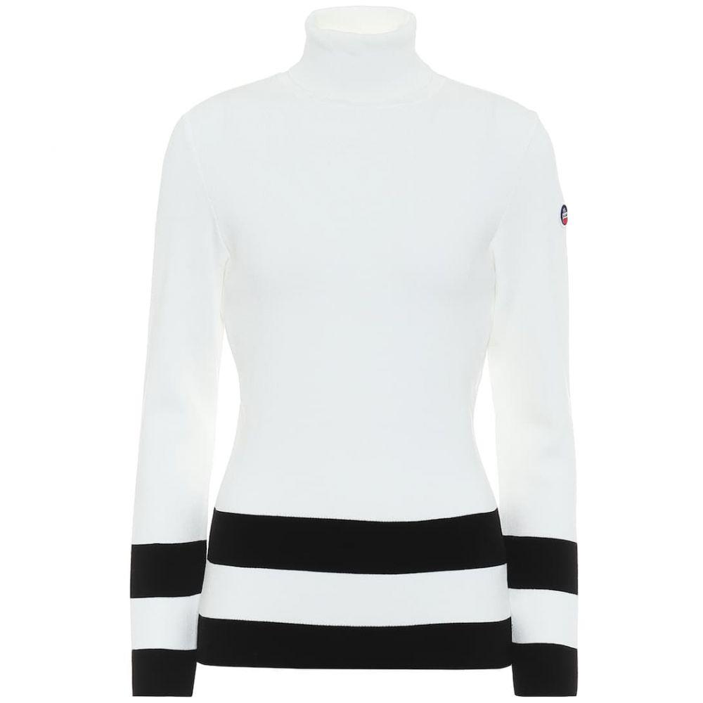 フザルプ Fusalp レディース ニット・セーター トップス【Ubac ribbed knit sweater】Poudre