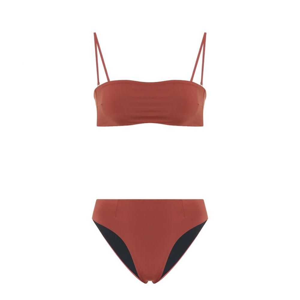 ヘイト Haight レディース 上下セット 水着・ビーチウェア【Marcella bikini】Marsala & Black