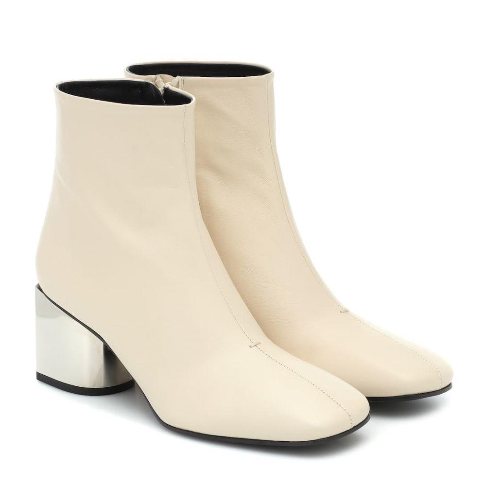 プロエンザ スクーラー Proenza Schouler レディース ブーツ ショートブーツ シューズ・靴【Leather ankle boots】Ecru