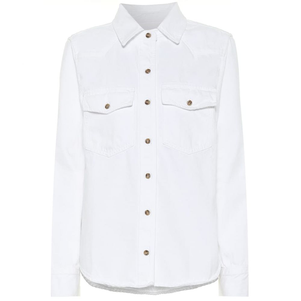 フレーム Frame レディース ジャケット Gジャン アウター【Le Vintage denim jacket】Blanc