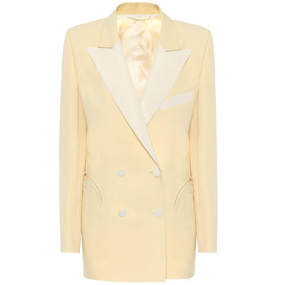 ブレイズ ミラノ Blaze Milano レディース スーツ・ジャケット アウター【Everyday linen and silk blazer】Butter