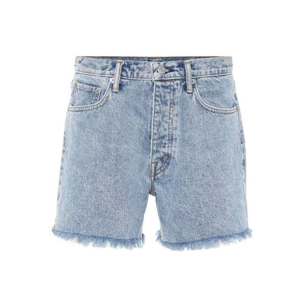 ヘルムート ラング Helmut Lang レディース ショートパンツ デニム ボトムス・パンツ【Cut Off Boy Fit denim shorts】Speckled Marble