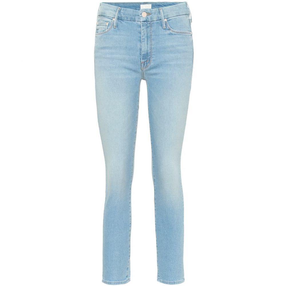 マザー Mother レディース ジーンズ・デニム ボトムス・パンツ【The Looker cropped skinny jeans】fresh cth