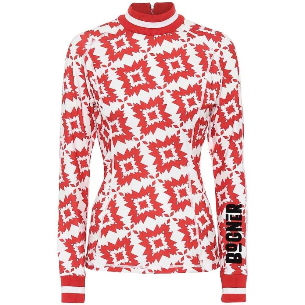 ボグナー Bogner レディース トップス 【Madeline stretch-jersey top】Red