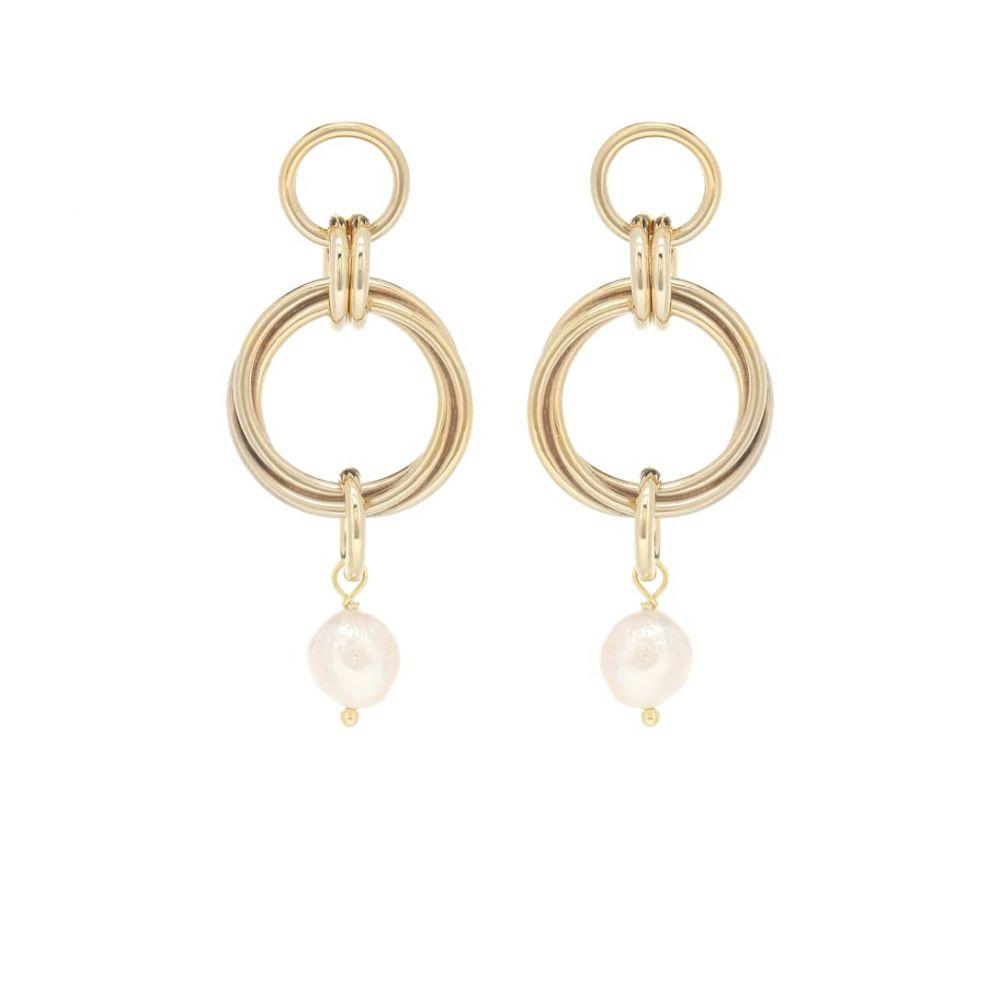 マグダ ブトリム Magda Butrym レディース イヤリング・ピアス ジュエリー・アクセサリー【Cedar 24kt gold-plated earrings with pearl】