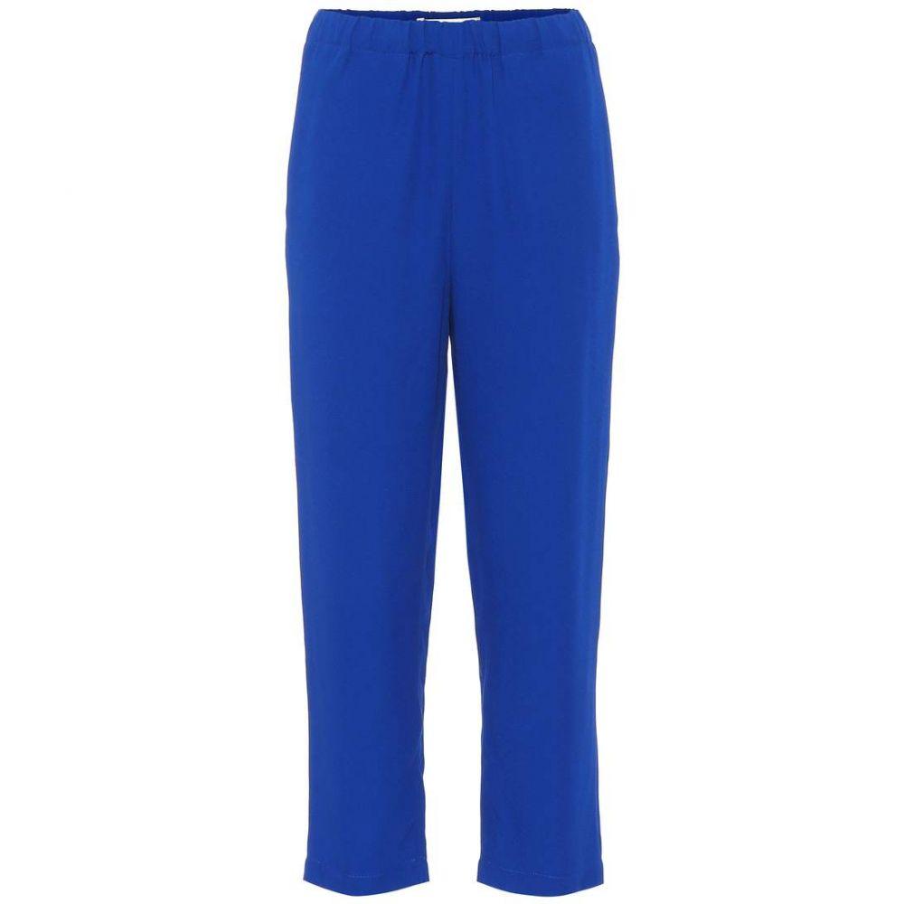 マルニ Marni レディース クロップド ボトムス・パンツ【Cropped pants】Astral Blue