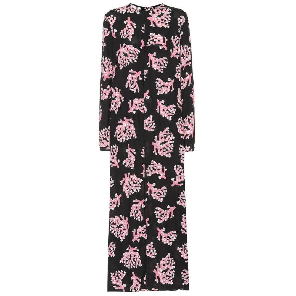 マルニ Marni レディース ワンピース ミドル丈 ワンピース・ドレス【Printed midi dress】