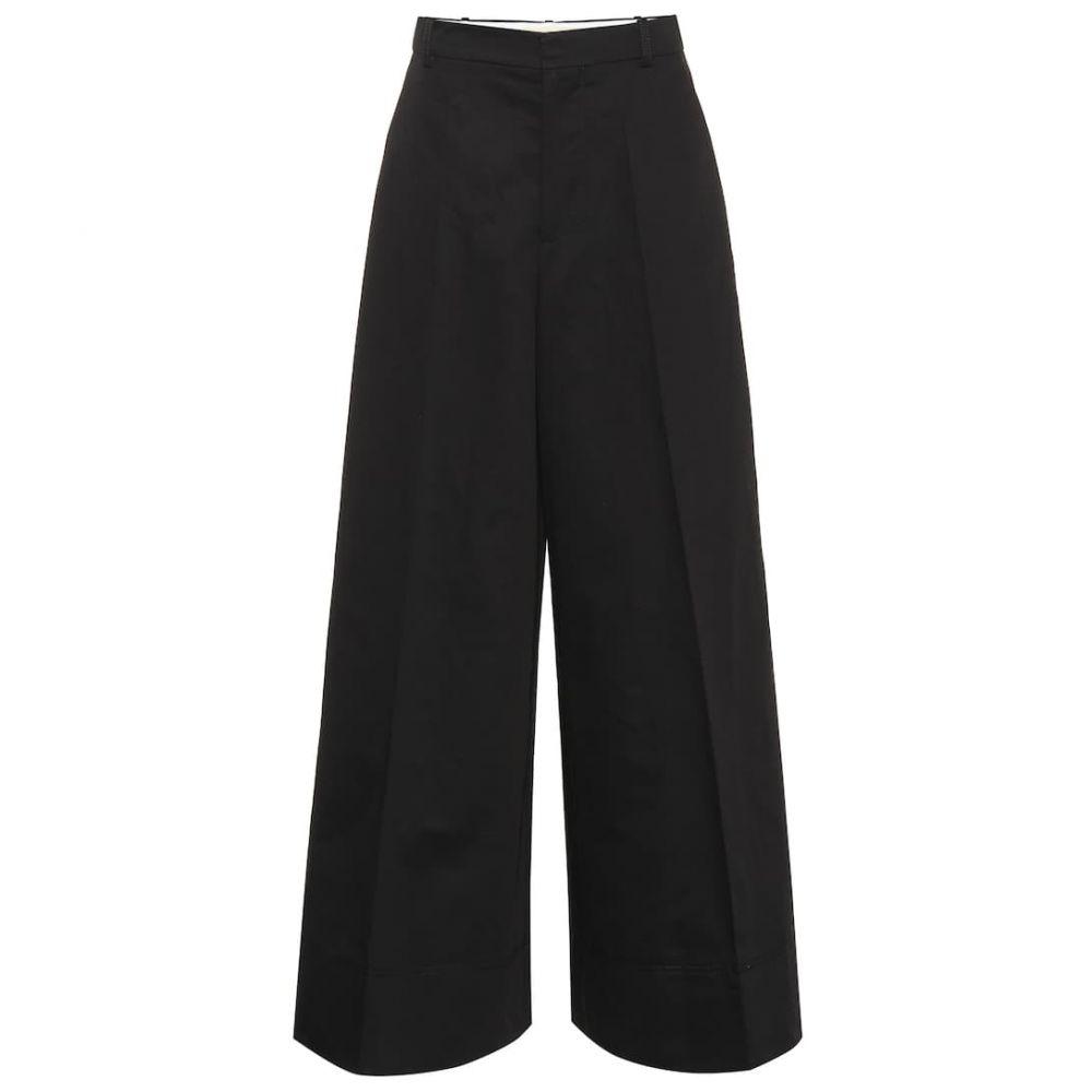 マルニ Marni レディース ボトムス・パンツ 【Wide-leg cotton and linen pants】