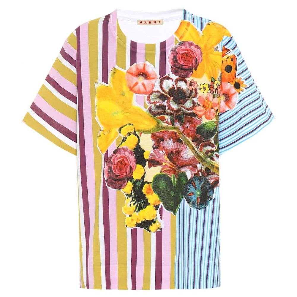 マルニ Marni レディース Tシャツ トップス【Printed cotton T-shirt】