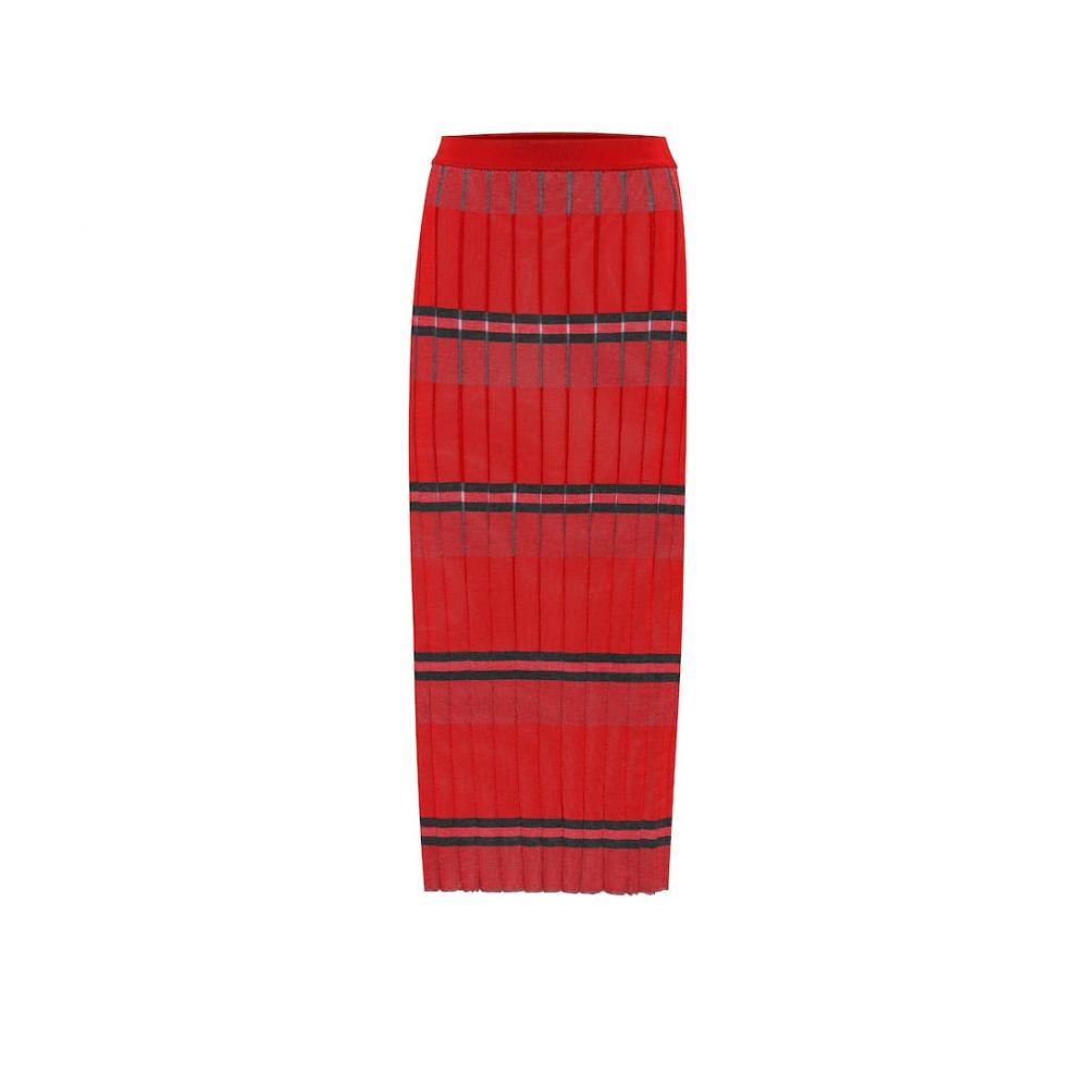 マルニ Marni レディース ひざ丈スカート スカート【Striped knit midi skirt】