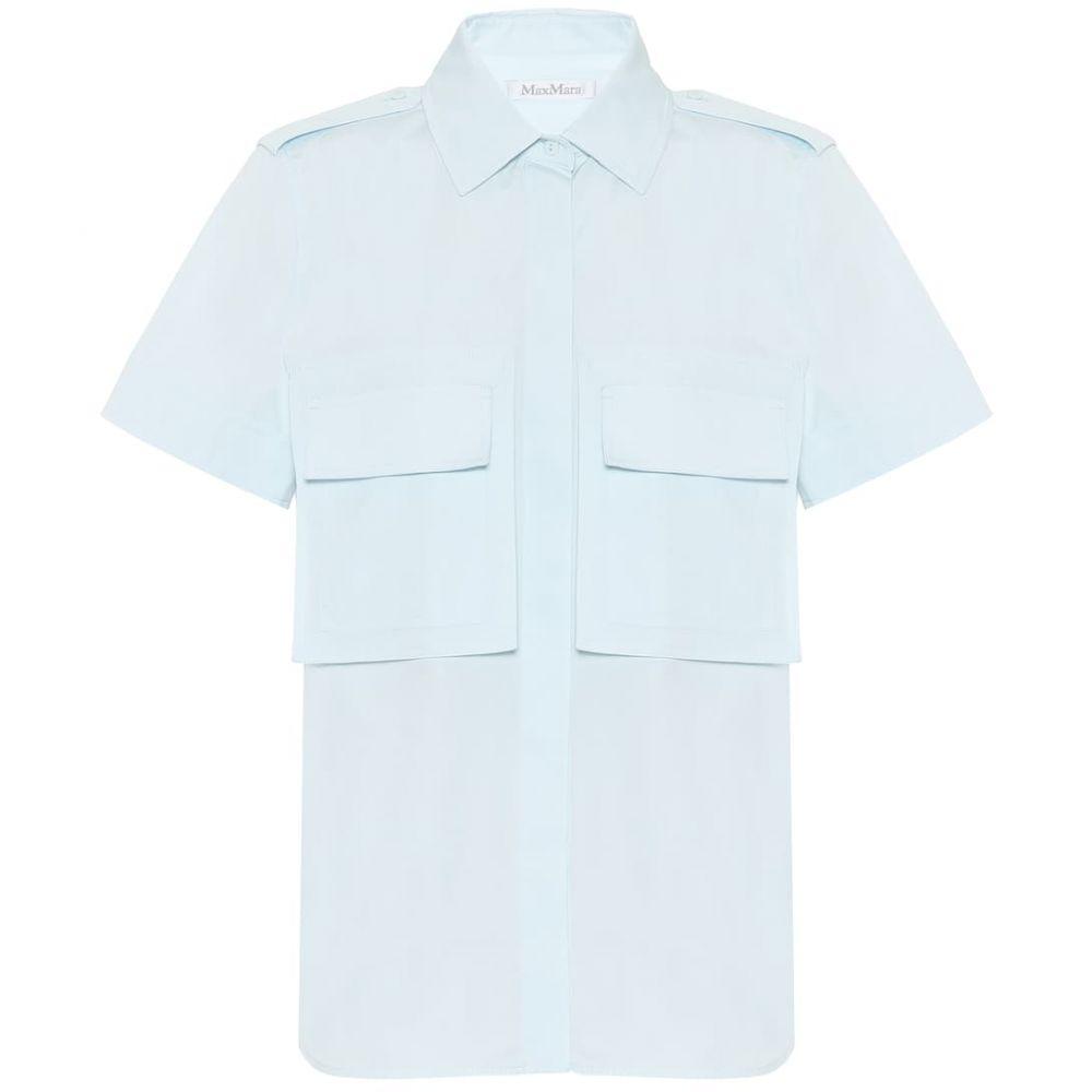 マックスマーラ Max Mara レディース ブラウス・シャツ トップス【Madison cotton safari shirt】