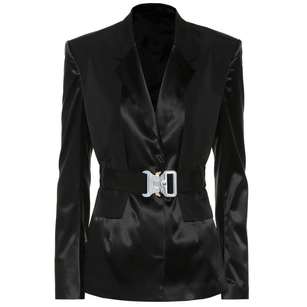 アリクス 1017 ALYX 9SM レディース スーツ・ジャケット アウター【Satin blazer】black