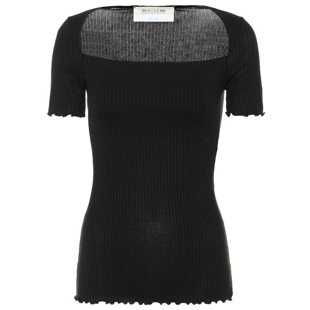 アリクス 1017 ALYX 9SM レディース トップス 【Princess ribbed knit top】black