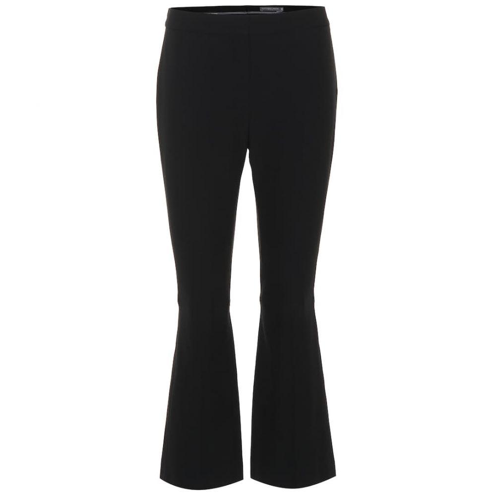 アレキサンダー マックイーン Alexander McQueen レディース クロップド ボトムス・パンツ【Embellished cropped pants】Black