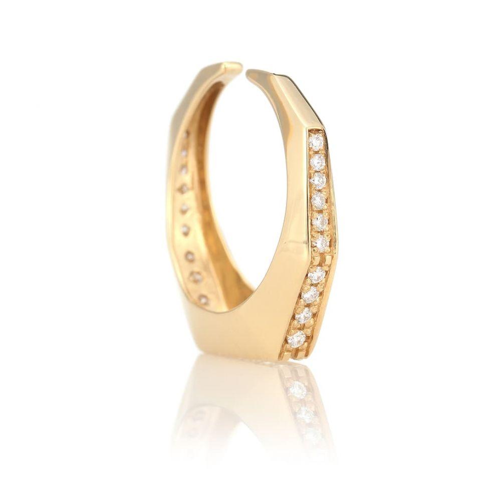 イーラ Eera レディース イヤリング・ピアス イヤーカフ ジュエリー・アクセサリー【Sabrina 18kt yellow gold convertible ear cuff with diamonds】
