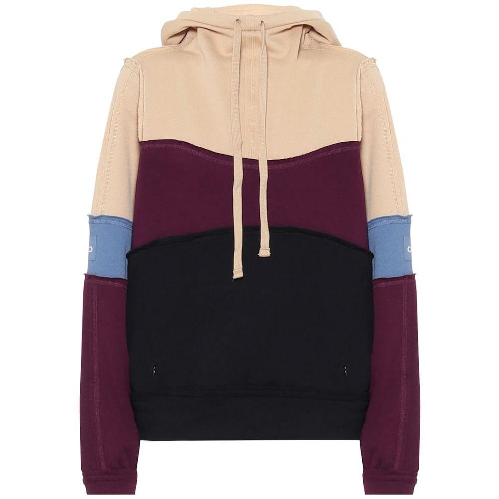 アローヨガ Alo Yoga レディース パーカー トップス【Cotton-blend hoodie】Putty/Jean/Plum/Blk