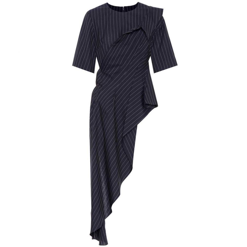モンス Monse レディース トップス 【Pinstriped wool top】Navy