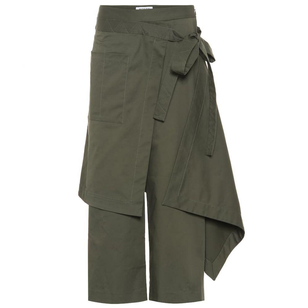 モンス Monse レディース ボトムス・パンツ 【Cotton-blend pants】Olive