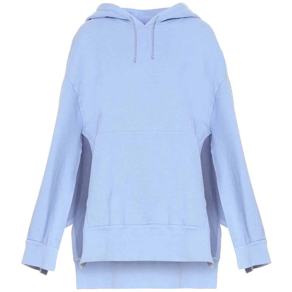 メゾン マルジェラ Maison Margiela レディース ポンチョ アウター【Cotton jersey hooded poncho】