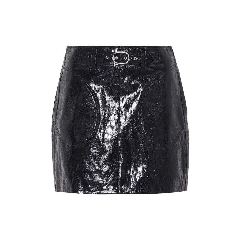 ラグ&ボーン Rag & Bone レディース ミニスカート スカート【Toni belted leather miniskirt】Black