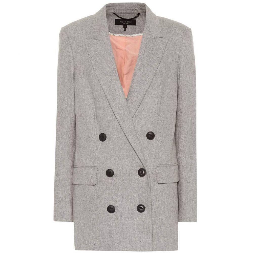 ラグ&ボーン Rag & Bone レディース スーツ・ジャケット アウター【Ellie wool-blend blazer】lt charcoal