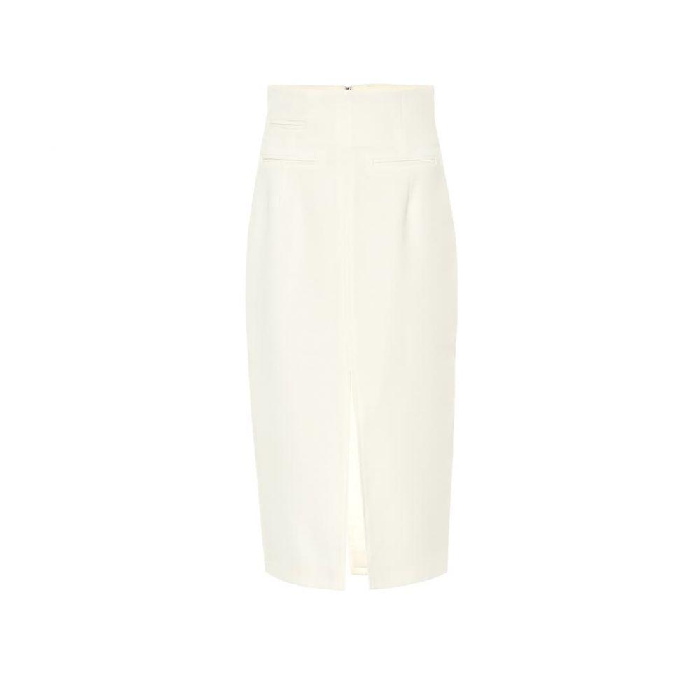 ラシル Racil レディース ひざ丈スカート ペンシルスカート スカート【Mel crepe pencil skirt】Cream
