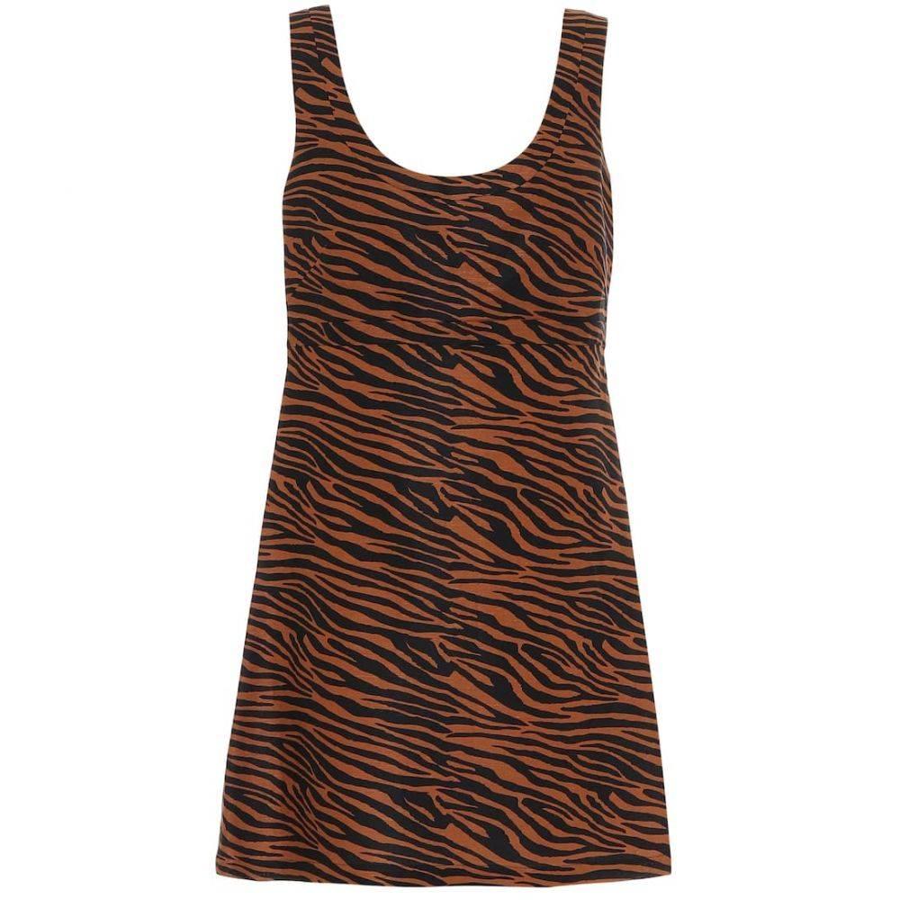 リサ マリー フェルナンデス Lisa Marie Fernandez レディース ワンピース ワンピース・ドレス【Zani zebra-print minidress】Zebra