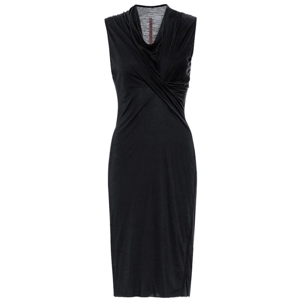リック オウエンス Rick Owens レディース ワンピース ワンピース・ドレス【Lilies knit dress】Black