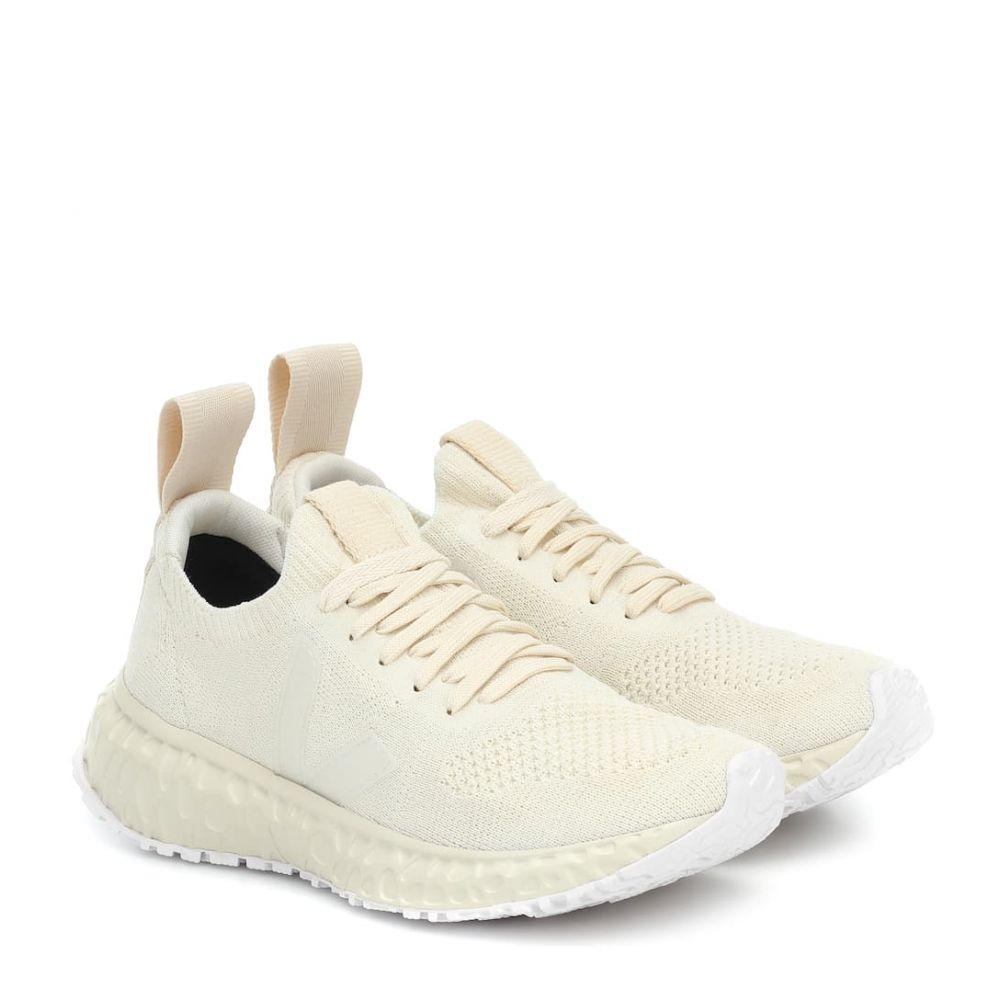 リック オウエンス Rick Owens レディース スニーカー シューズ・靴【x Veja knit sneakers】Natural