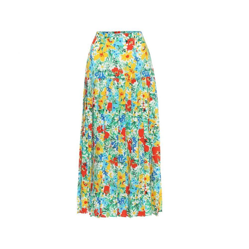 リキソ Rixo レディース ひざ丈スカート スカート【Tina floral cotton midi skirt】Retro Garden