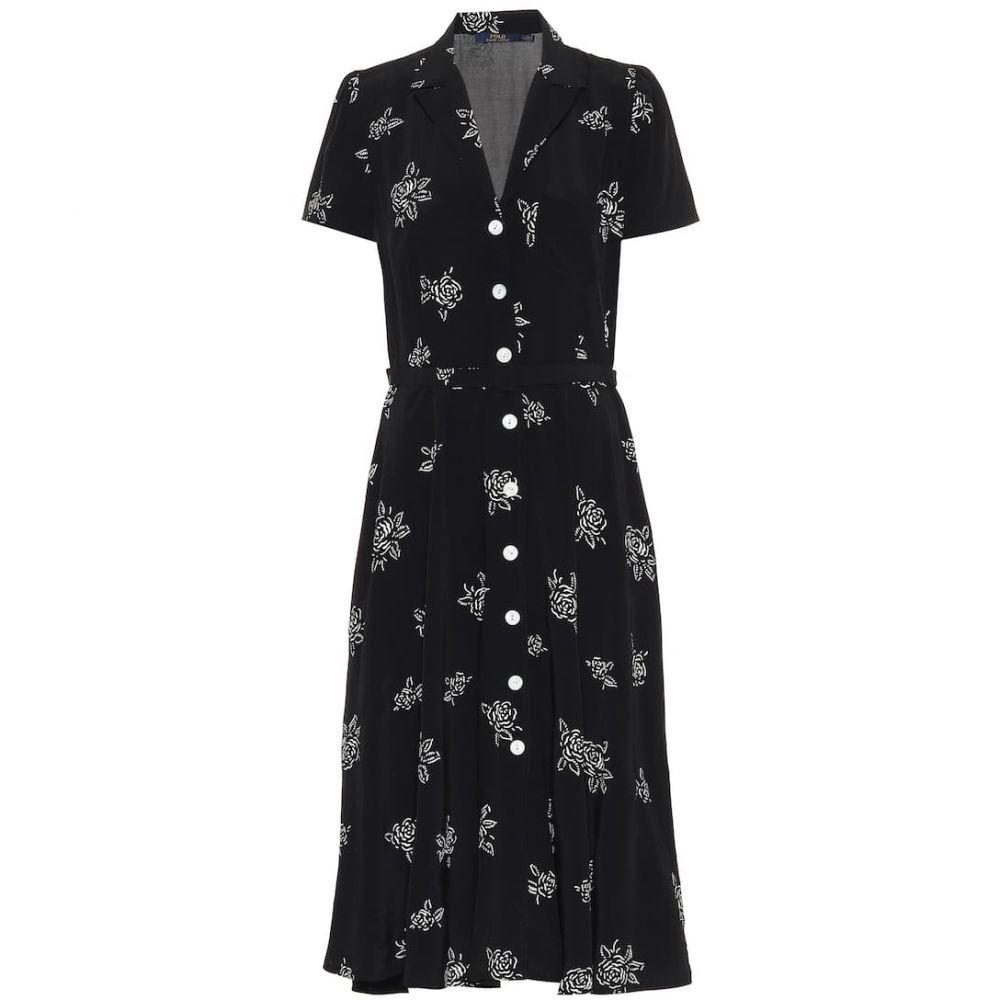 ラルフ ローレン Polo Ralph Lauren レディース ワンピース シャツワンピース ワンピース・ドレス【Floral shirt dress】Black Rose Floral